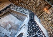 Stairs des Königs bei Hampton Court Palace, Großbritannien Stockfoto