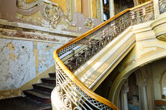 Stairs detail old history Casino building Royalty Free Stock Photography