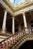 Stairs in Dolmabahce Palace Royalty Free Stock Photos