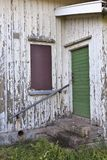 Stairs and door Stock Image