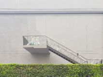 The stairs without the door stock image