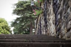 Stairs. In Florence Royalty Free Stock Photo