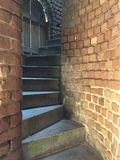 Stairs at Fort Clinch State Park Royalty Free Stock Images