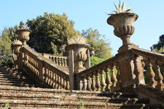 Stairs in Frascati (Rome, Italy) Stock Image