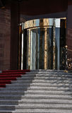 Stairs in front of the hotel Stock Photography