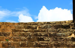 Stairs in Galle Fort Royalty Free Stock Photo
