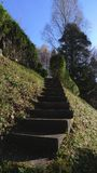 Stairs in the garden Stock Photography