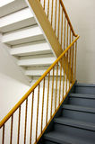Stairs Going Up. A set of office or institutional stairs Royalty Free Stock Photography