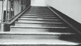 The stairway royalty free stock photos