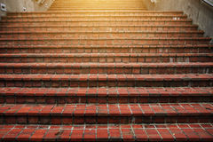Stairs going up to the light Royalty Free Stock Photo