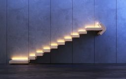Stairs going upward royalty free stock photos