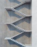 Stairs going  upward Stock Image