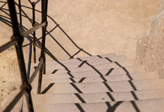 Stairs Goreme Open Air museum Stock Photos