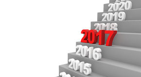 Stairs 2017 Stock Image