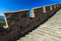 Stairs of the great wall China Stock Photos