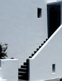 Stairs In Greek Home Royalty Free Stock Photography