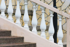 Stairs and handholds Royalty Free Stock Photo