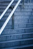 Stairs with handrail Royalty Free Stock Image