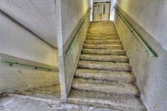 Stairs in HDR Stock Photo