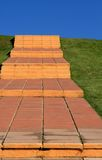 Stairs on the hill Royalty Free Stock Photography