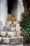 Stairs in historical museum castle Bran Royalty Free Stock Photography