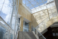 Stairs,modern architecture Royalty Free Stock Photos