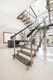 Stairs inside of apartment Royalty Free Stock Photos