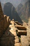 Stairs inside Machu Picchu  Stock Photos