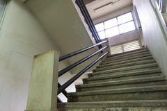 Stairs inside the office building.  royalty free stock image