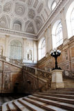 Stairs inside the Royal Palace in Naples, Italy Stock Photos