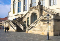 Stairs at Johanneum-Dresden Stock Photo