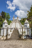 Stairs leading to Bom Jesus do Monte in Braga Stock Image