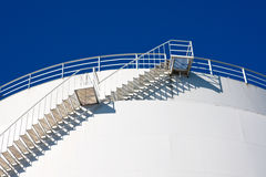 Stairs leading to the sky Stock Image