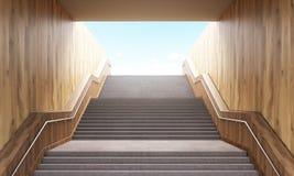 Stairs leading to sky Stock Photos