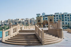 Stairs leading to the Souk Al Bahar Stock Image