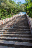 Stairs leading to a temple Royalty Free Stock Photography
