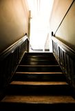 Stairs leading up to a studio Stock Photo