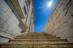 Stairs in Lisbon Royalty Free Stock Image