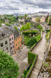 Stairs, Luxembourg Royalty Free Stock Photos