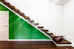Stairs in luxurious house Royalty Free Stock Images
