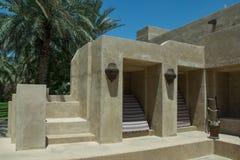 Stairs in luxury arabian desert hotel Royalty Free Stock Images