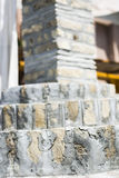 Stairs made of bricks Royalty Free Stock Photos