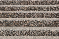 Stairs made of reddish granite Royalty Free Stock Images