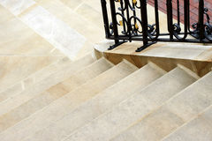 Stairs made of sandstone Stock Images