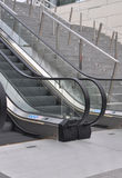 Stairs in a mall. Mechanical stairs in a mall Royalty Free Stock Image