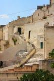 Stairs in Matera, Basilicata, Italy Royalty Free Stock Photo