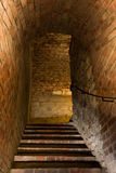 Stairs in medieval stronghold Royalty Free Stock Photography