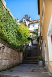 Stairs in Meissen, Germany Royalty Free Stock Images