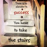Stairs message Stock Images