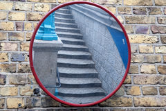 Stairs in Mirror Royalty Free Stock Photography